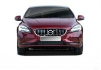 VOLVO V40 Limousine Front + links, Hatchback, Bordeaux (Dunkelrot)
