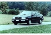 VW   Front + links, Sedan, Schwarz