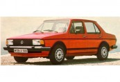VW   Front + links, Sedan, Rot