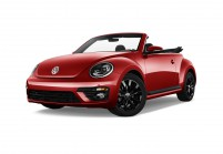 VW BEETLE Cabriolet Vista laterale-frontale