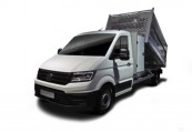 VW CRAFTER  Front + links