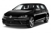 VW GOLF  Schrägansicht Front