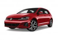 VW GOLF Berlina Vista laterale-frontale