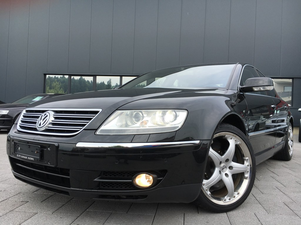 vw phaeton 6 0 w12 4motion occasion essence 15 39 900 km chf 29 39 800. Black Bedroom Furniture Sets. Home Design Ideas