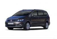 VW SHARAN Compactvan / Minivan Anteriore + sinistra, Multi Purpose Vehicle, Marrone