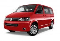 VW T6 Bus Schrägansicht Front