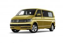 VW T6 Minibus Vista laterale-frontale