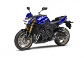 YAMAHA FZ8  Front + links, , Blau