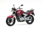 YAMAHA YBR 250  Front + links, , Rot