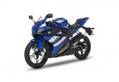 YAMAHA YZF-R 125  Front + links, , Blau